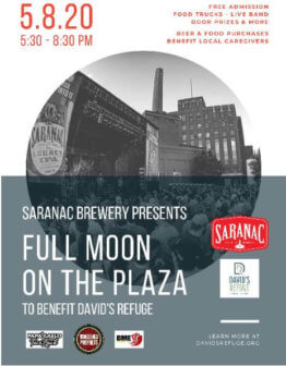 Full Moon On The Plaza, presented by Saranac Brewery