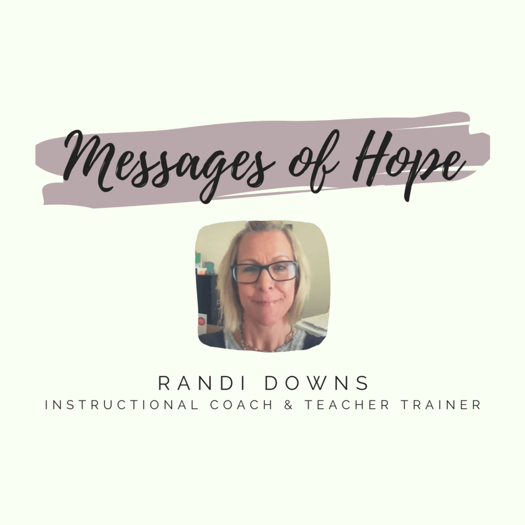 Randi Downs Message