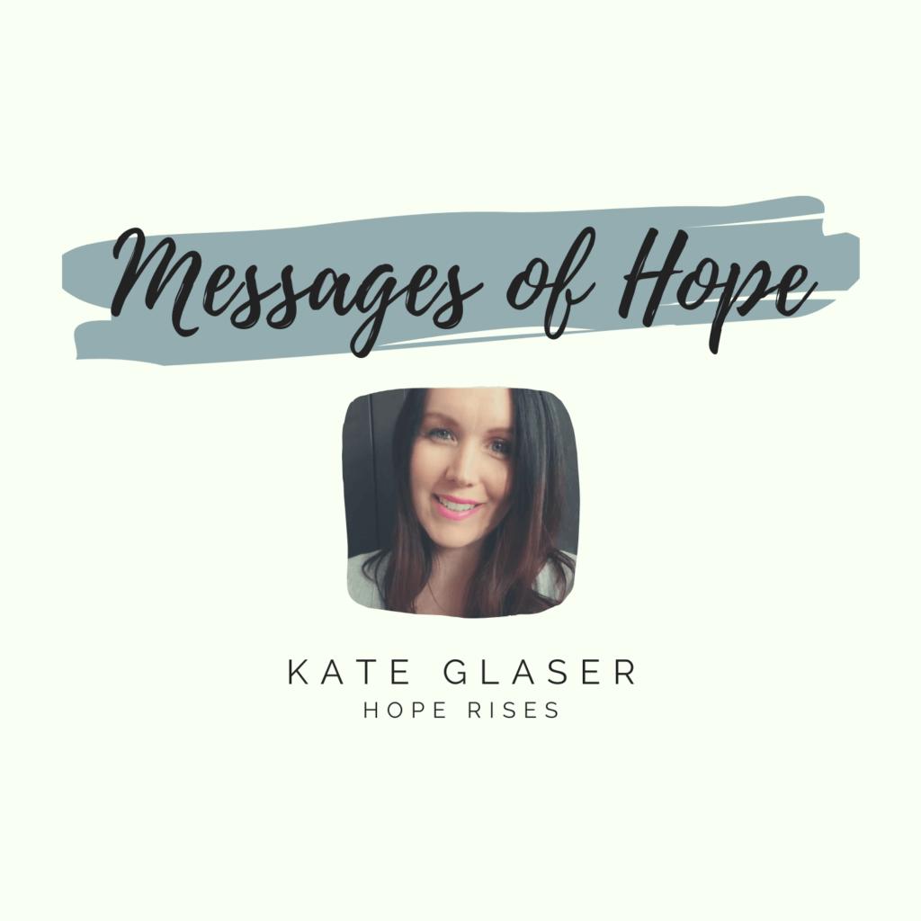 Kate Glaser Message