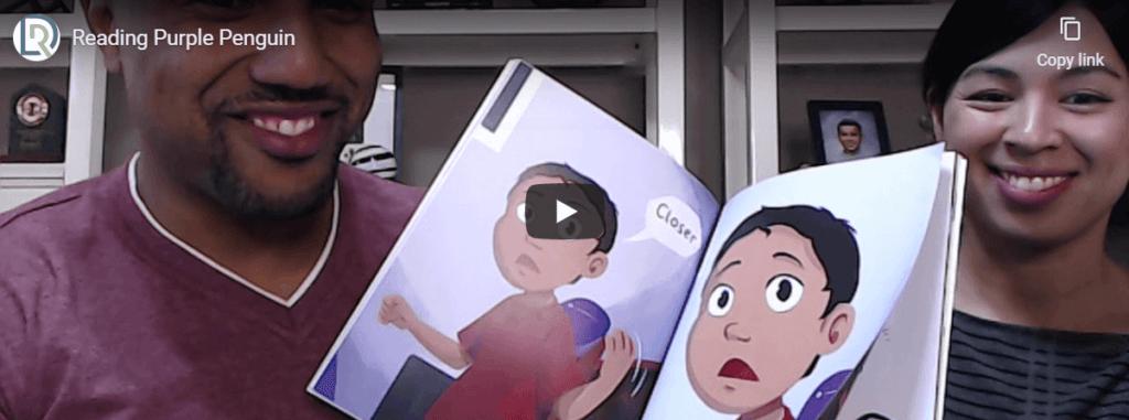 Read Along – Purple Penguin with Arel & Yolanda