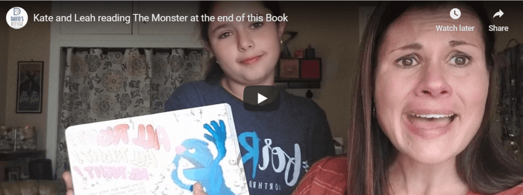 Read Along – Monster at the End of This Book