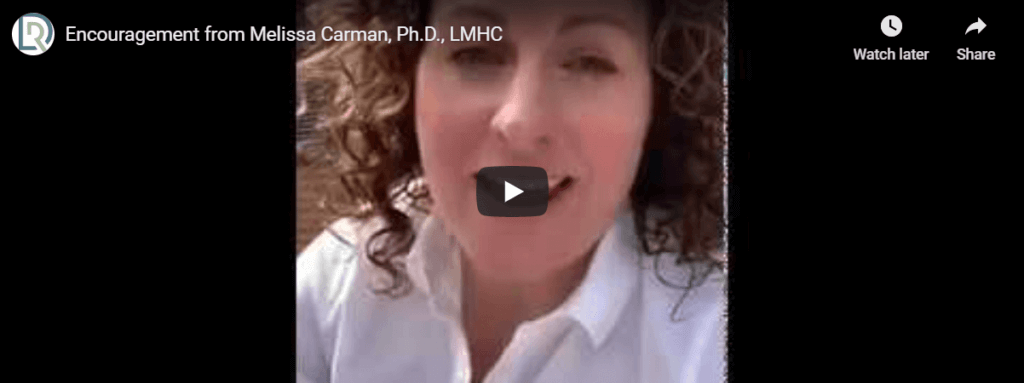 Managing Emotions with Melissa Carman, LMHC