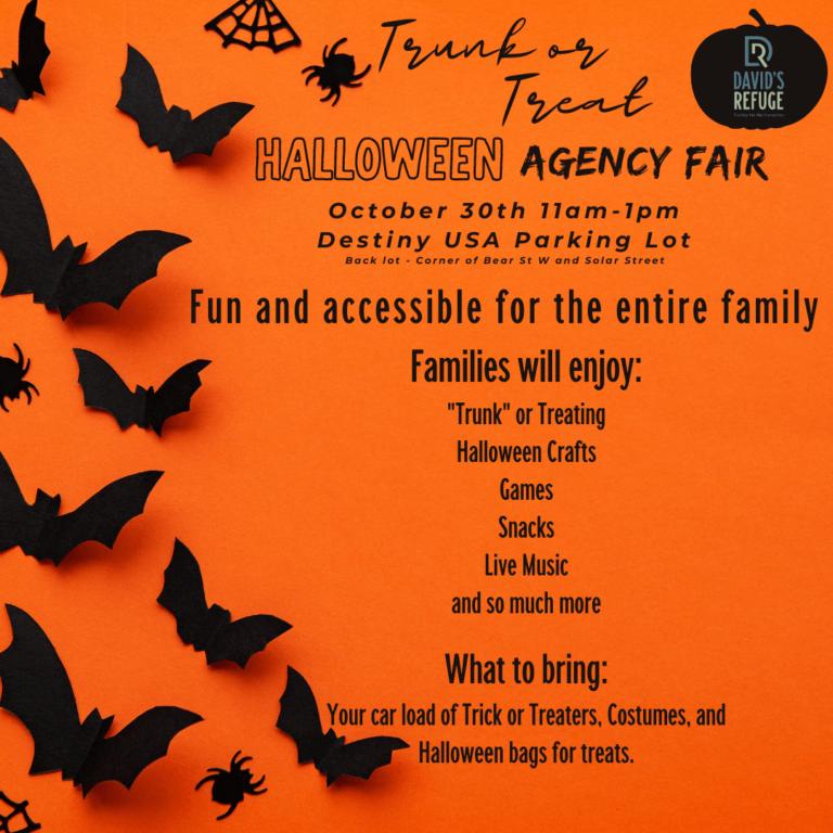 Halloween Agency Fair